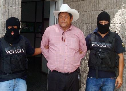 capturadoJoseMurilloSanchez taken to jail